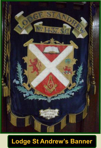 Lodge St Andrew's Banner